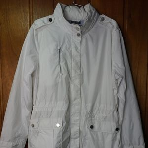 Tommy Hilfiger Women's White Jacket with Hood